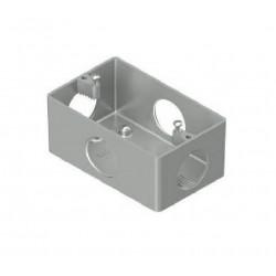 Caja daisa para bastidor con tapa uso interior rosca 3/4