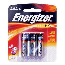 Pila aaa energizer max e92bp2 1.5v de 2 unidades blister