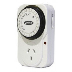 Timer mecanico zurich programable enchufable