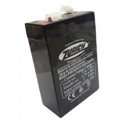 Bateria zurich 6v 2,8ah