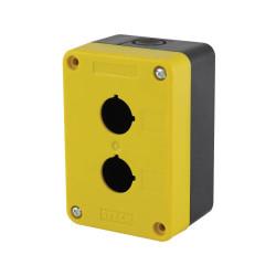 Caja steck s-q2k para botonera 2 orificios vacia