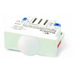 Interruptor cambre infrarrojo de movimiento blanco
