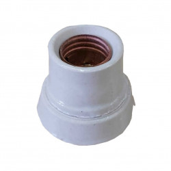 Receptaculo ed ceramico de porcelana recto