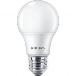 Lámpara led philips bulbo ecohome e27 de 12w 3000°k luz...