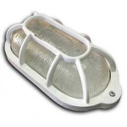 Tortuga de aluminio ovalada 150w blanco