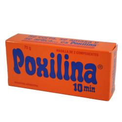Pegamento poxilina poxipol 70g 10 minutos 70 gramos