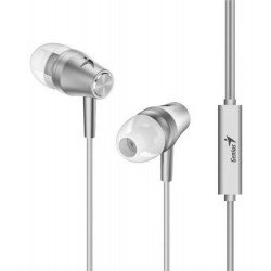 Auricular genius hs-m360 con microfono in ear blanco