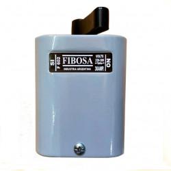Interruptor rotativo fibosa f-602 caja de chapa 2 x 30a...