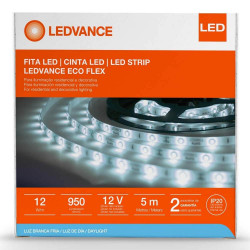 Cinta led ledvance ecoflex 12w/865 12v ip65 5metros