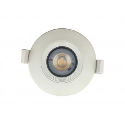 Embutido lumenac dot movil led 10w/830 3000°k 120mm