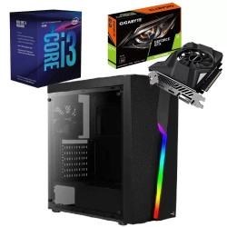 Cpu completa sfx 785 intel i3 9100f 240gb ssd ram 4gb...