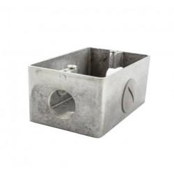 Caja para bastidor daisa sin tapa uso interior rosca 3/4