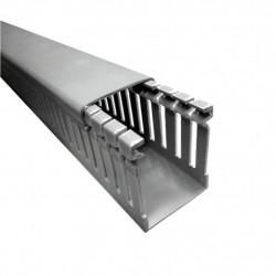 Cablecanal zoloda industrial gris 100 x 80 mm (tramo 2...