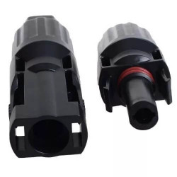 Conector trv mc-4 uso energia solar set inp 2 out 4mm2