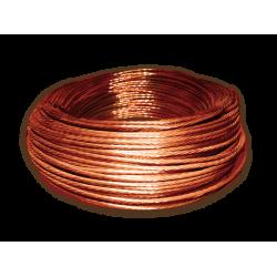 Cable de cobre desnudo 50 mm2 (19 hilos)