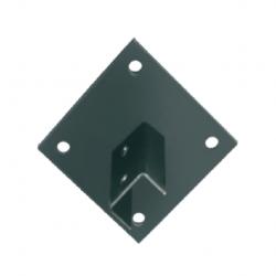 Soporteria basica platabanda simple 28x44mm 3.2mm