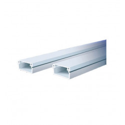 Cablecanal 18x21mm con adhesivo 2m 1821