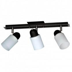 Aplique ferrolux faenza 3 luces tulipa cilindro negro e27...