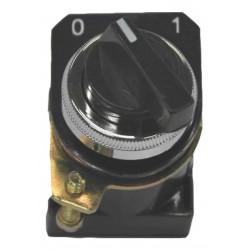 Selector conmutador aea 7100 n plástico de palanca corta...