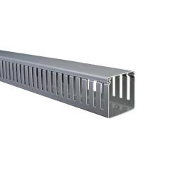 Cablecanal ranurado dexson gris 80x80mm 2m