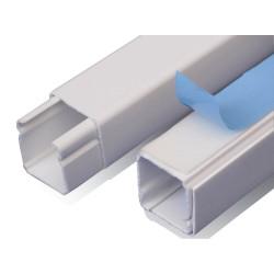 Cablecanal dexson 40x40 con adhesivo blanco 2m