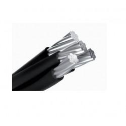 Cable preensamblado de aluminio 3x 25 + 50 mm2