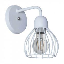 Aplique ferrolux porto 1 luz e27 blanco