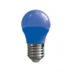 Lámpara led tbcin g45-e27-3wb de 3w luz azul