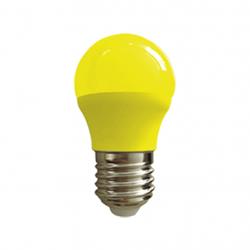 Lámpara led tbc bulbo g45 e27 de 3w luz amarilla
