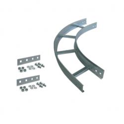 Curva plana basica de 90° tipo escalera ala 64 450mm con...