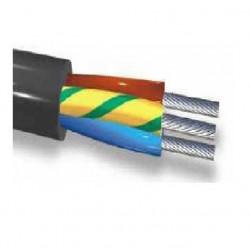 Cable alta temperatura indusil siliconado 2x2.50 mm2 (-60...
