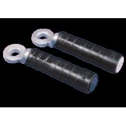 Terminal de al-cu 50 mm neutro para preensamblado (negro)