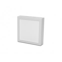 Plafon tbc ts-smd-825bw-rec cuadrado led 25w luz dia 24x24cm