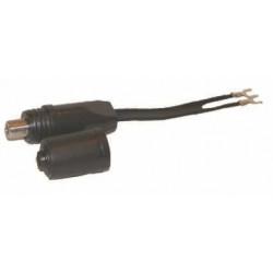 Tv - adaptador 300/75 c/hembra pin fino y capuchon