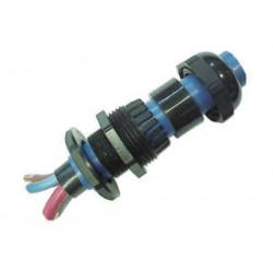 Prensacable de polipropileno 20 mm   3/4 orificio 13 mm