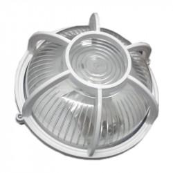 Tortuga plastica redonda blanca max 40w