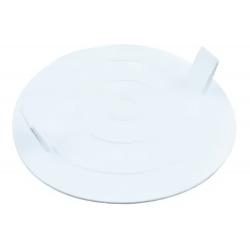 Tapa plastica octogonal grande
