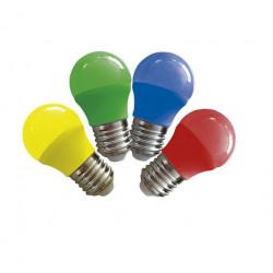 Lampara led tbc g45-e27-3wr de 3w luz roja