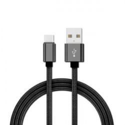 Cable usb etheos tipo c de 1m color negro