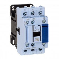 Contactor weg 220vca 18amp 1na-1nc 50/60hz