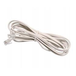 Cable telefonico de 8 metros con 2 fichas