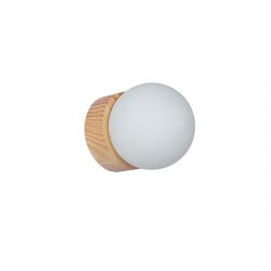 Aplique carilux adivina adivinador 14 cms base madera...