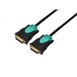 Cable nisuta ns-cadvid2 dvi-d a dvi-d 1.5 metros