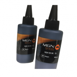 Botellon alternativo magna mgn-td-100 bk para epson/hp negro