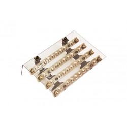 Repartidor elent standard 4x160a 10 bornes con tapa...