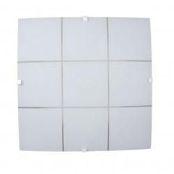 Plafon ferrolux torino 2 luces blanco
