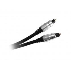 Cable audio optico digital nisuta ns-cato3 toslink 3 metros