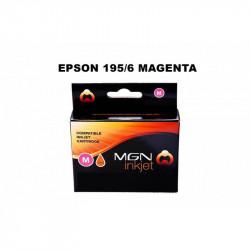 Cartucho alternativo magna para epson magenta (195m 196m)