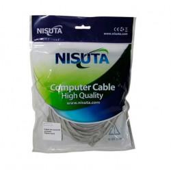 Cable nisuta armado de red (patchcord) categoria 5e de 20...