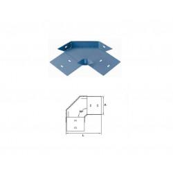 Tapa ciega basica para curva horizontal 90° perforada...
